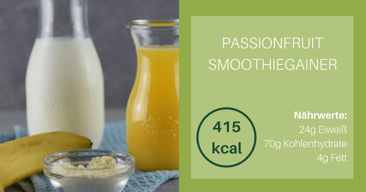 Passionfruit Smoothiegainer