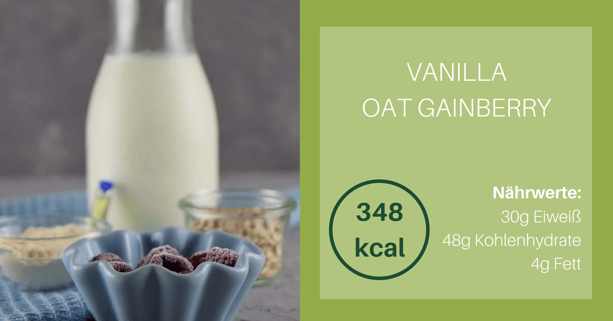 Vanilla Oat Gainberry