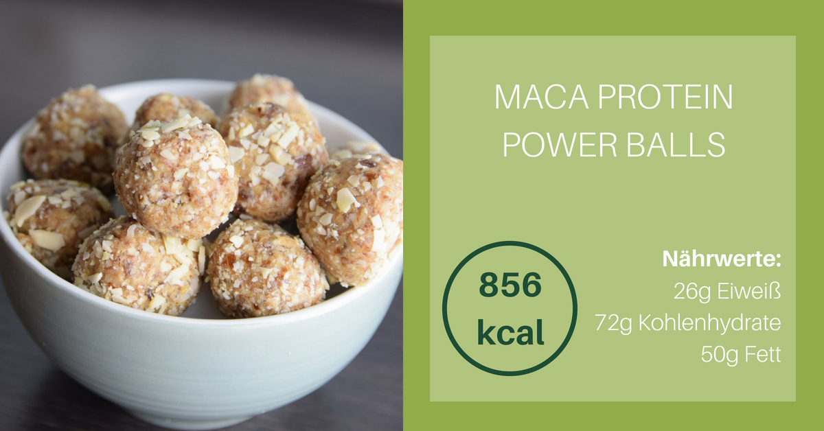 Maca Protein Power Balls